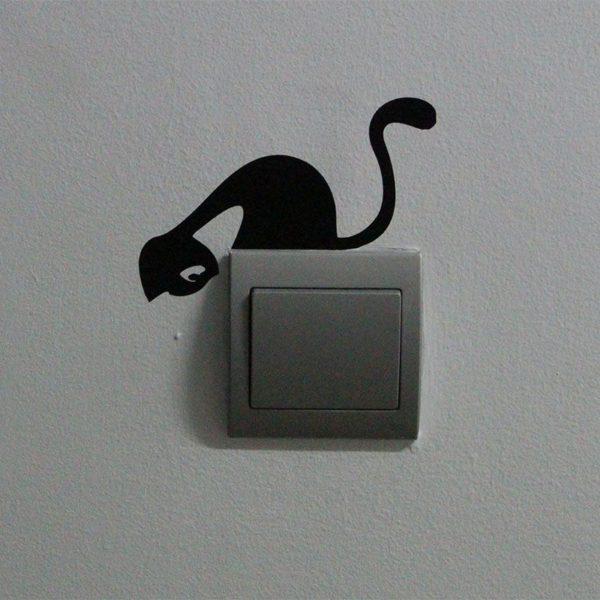vinilos-decorativos-interruptor-luz gato