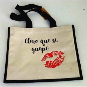 Bolsas de tela personalizadas con serigrafia