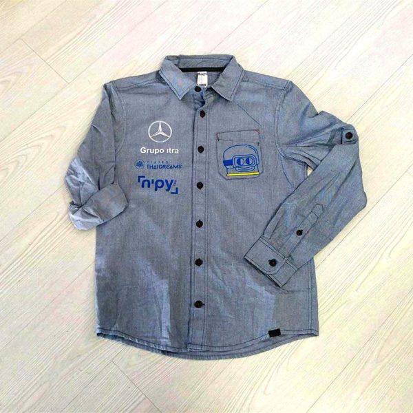 camisa personalizada estilo vaquero