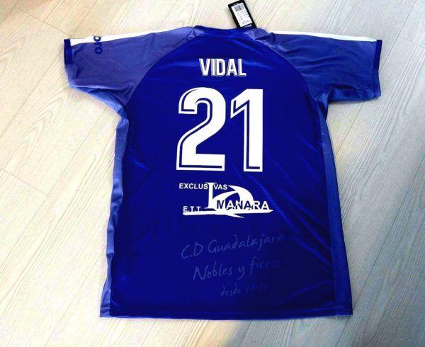 Camiseta equipacion futbol personalizada